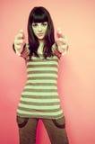 Menina adolescente que alcanga para um Hug foto de stock royalty free
