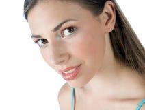 Menina adolescente que faz a expressão fotos de stock royalty free