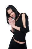 Menina adulta nova bonita Imagem de Stock Royalty Free