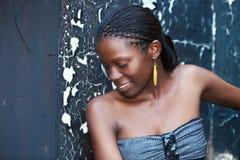 Menina africana Fotos de Stock Royalty Free