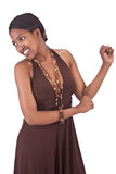 Menina africana Fotografia de Stock
