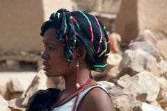 Menina africana bonita fotos de stock