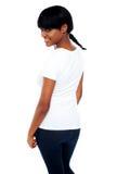 Menina africana na moda bonito Imagens de Stock Royalty Free