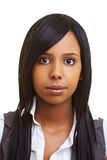 Menina africana nova Imagens de Stock