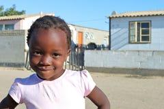 Menina africana nova Fotografia de Stock