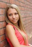 Menina agradável Fotografia de Stock