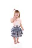 Menina alegre fotografia de stock