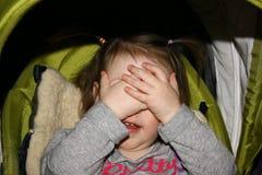 Menina alegre Imagem de Stock