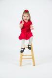 Menina alegre da criança Fotografia de Stock Royalty Free