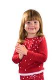 Menina amável consideravelmente feliz Fotografia de Stock Royalty Free