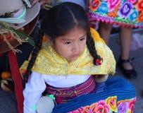 Menina andina 2 imagens de stock