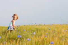 Menina ao ar livre Imagem de Stock Royalty Free