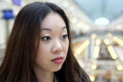 Menina asiática Foto de Stock Royalty Free