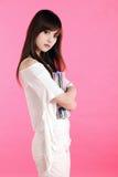 Menina asiática. Foto de Stock