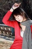 Menina asiática. Foto de Stock Royalty Free