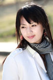 Menina asiática. Imagem de Stock