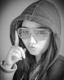 Menina asiática atrativa em seus anos 20 isolada sobre Fotos de Stock