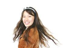 Menina asiática atrativa nova imagens de stock