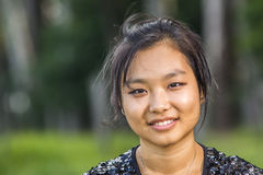 Menina asiática bonito Fotos de Stock Royalty Free