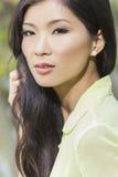 Menina asiática chinesa bonita da jovem mulher Imagens de Stock