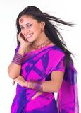 Menina asiática com jóias agradáveis Fotos de Stock Royalty Free