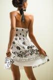 Menina asiática da beleza levantada Fotos de Stock Royalty Free