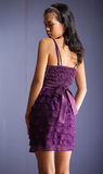Menina asiática da beleza levantada Fotografia de Stock Royalty Free