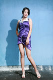 Menina asiática da forma Fotos de Stock