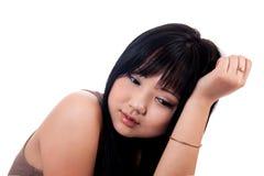 16 anos de menina 16 Imagem de Stock Royalty Free