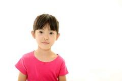 Menina asiática de sorriso fotos de stock