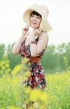 Menina asiática do verão Fotografia de Stock