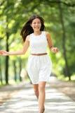 Menina asiática feliz Imagem de Stock