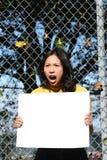 Menina asiática nova Imagem de Stock