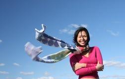Menina asiática nova imagens de stock royalty free