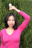 Menina asiática nova foto de stock royalty free