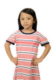 Menina asiática pequena Fotografia de Stock