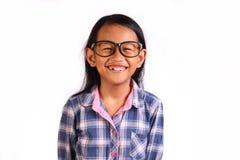 Menina asiática pequena feliz Foto de Stock