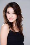 Menina asiática bonita Imagens de Stock Royalty Free