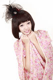 Menina asiática da forma Foto de Stock Royalty Free