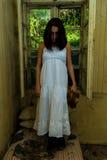 Menina assustador Imagem de Stock Royalty Free