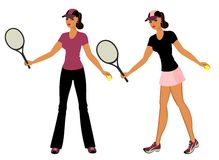 Menina atlética Imagens de Stock Royalty Free