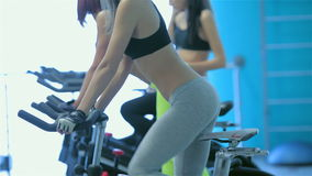 Menina atlética com corpo 'sexy' video estoque