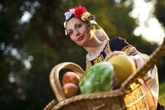 Menina búlgara Imagens de Stock Royalty Free