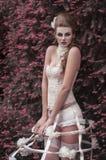 Menina barroco Foto de Stock Royalty Free