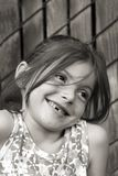 Menina Bashful Fotografia de Stock Royalty Free