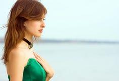 Menina bonita Imagens de Stock Royalty Free