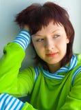 A menina bonita Imagem de Stock Royalty Free
