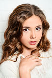 Menina bonita adolescente Fotografia de Stock Royalty Free