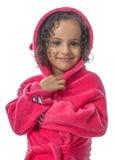 Menina bonita após o chuveiro Fotos de Stock Royalty Free