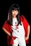 Menina bonita asiática Fotografia de Stock